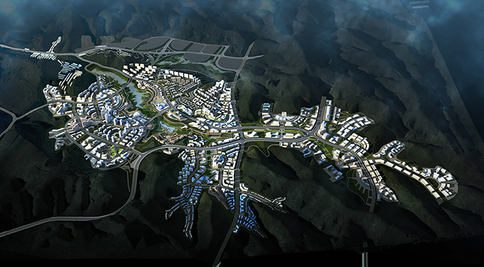 """2015年6月13日,我公司喜获""""延安市新区东区一期城市设计""""国际竞标第一"""