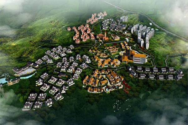 2011年7月27日,我公司喜获房县温泉旅游度假区控制性详细规划国际设计